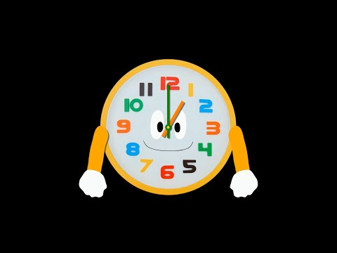 Telling Time 2 - Clock - The Kids' Picture Show (Fun & Educational Learning Video)