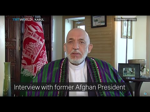 The Newsmakers with Former Afghan President Hamid Karzai