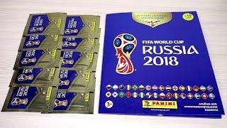 PANINI Чемпионат Мира 2018 / FIFA World Cup 2018. Обзор журнала и первые наклейки