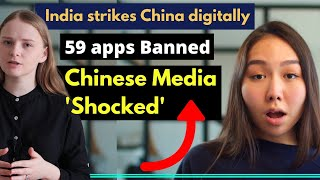India Bans 59 Apps | Chinese Media Reactions | Tiktok Is Banned…|karolina Goswami