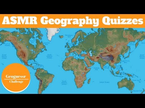[ASMR] More Whispered Geography Quizzes!