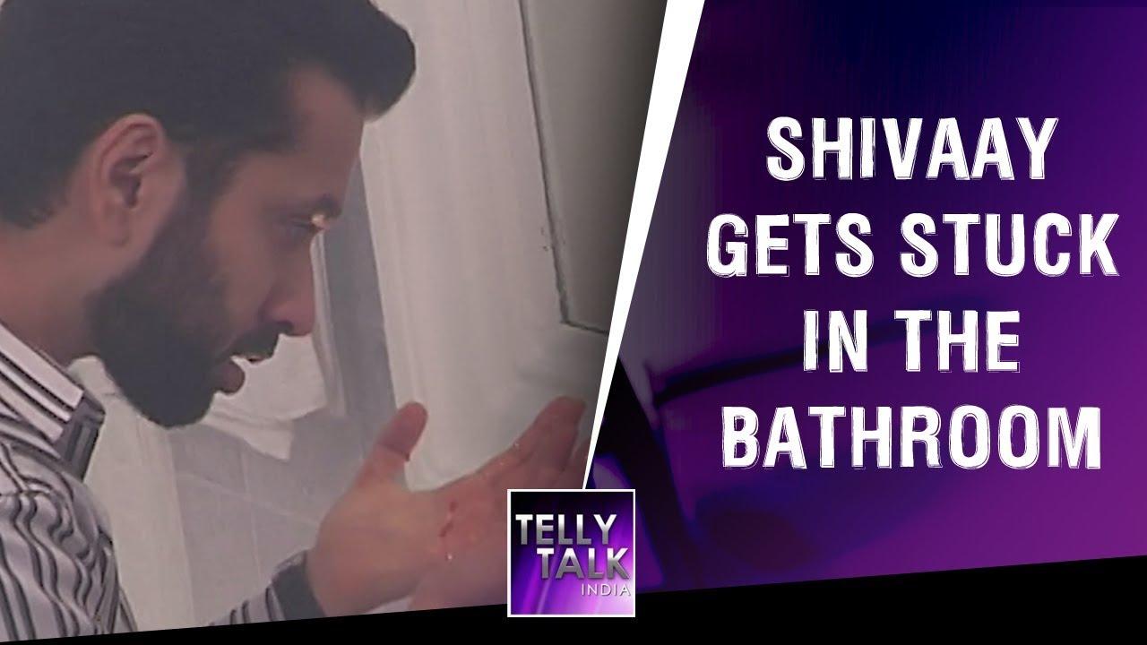 Shivaay gets STUCK in the bathroom | Ishqbaaz