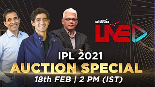 Cricbuzz Live, IPL 2021: Auction Special