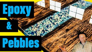 Epoxy resin river table how to ( 2019 ) DIY