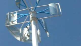 有罩式垂直軸風力發電機(Vertical axis wind turbine)