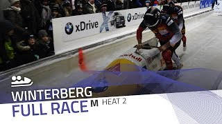 Winterberg | BMW IBSF World Cup 2017/2018 - 2-Man Bobsleigh Heat 2 | IBSF Official