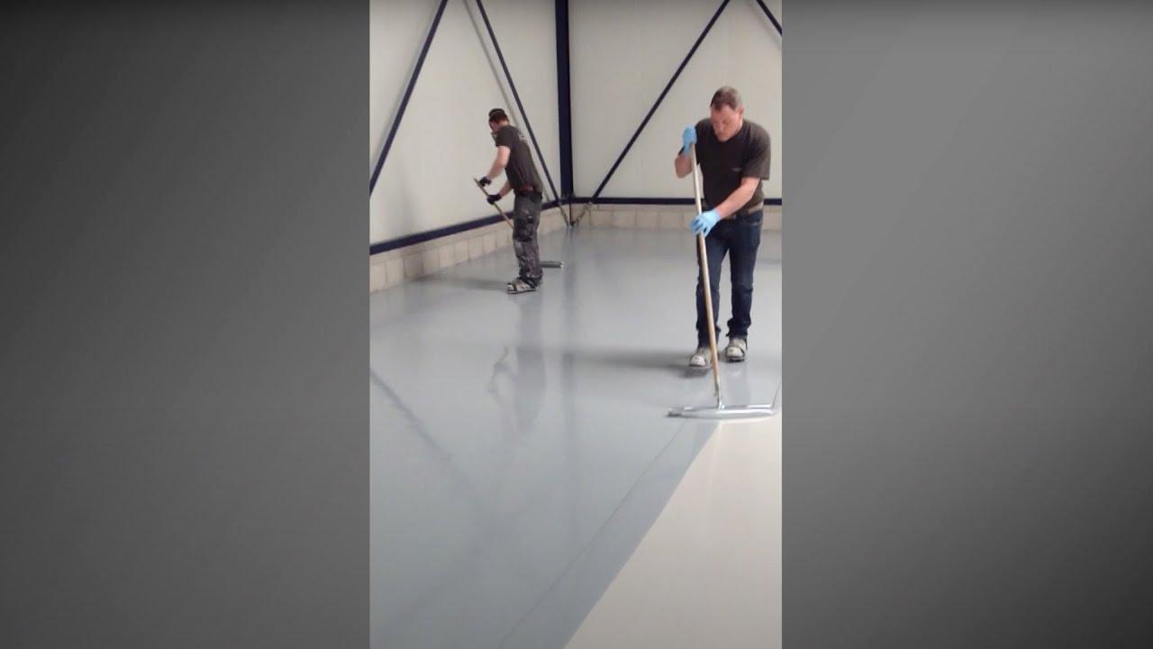 vloercoatings van coatingvloer vloercoating hq youtube