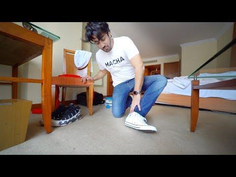 mumbiker nikhil fila shoes