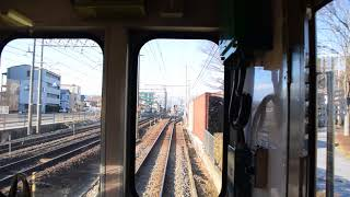 福島交通 飯坂線 図書館美術館前駅~曽根田駅