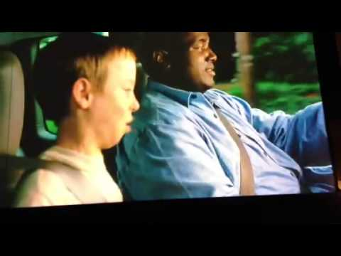 The blind side essay scene it
