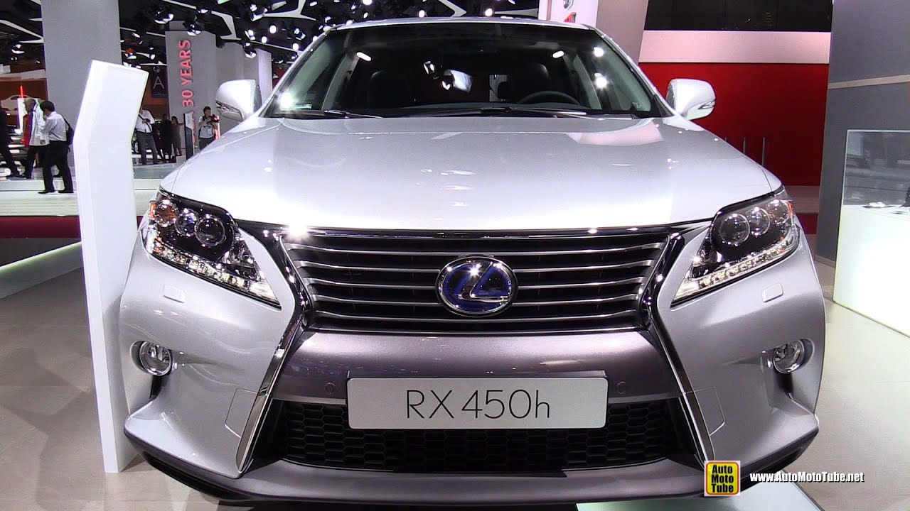 2015 lexus rx 450h exterior and interior walkaround 2014 paris auto show youtube. Black Bedroom Furniture Sets. Home Design Ideas