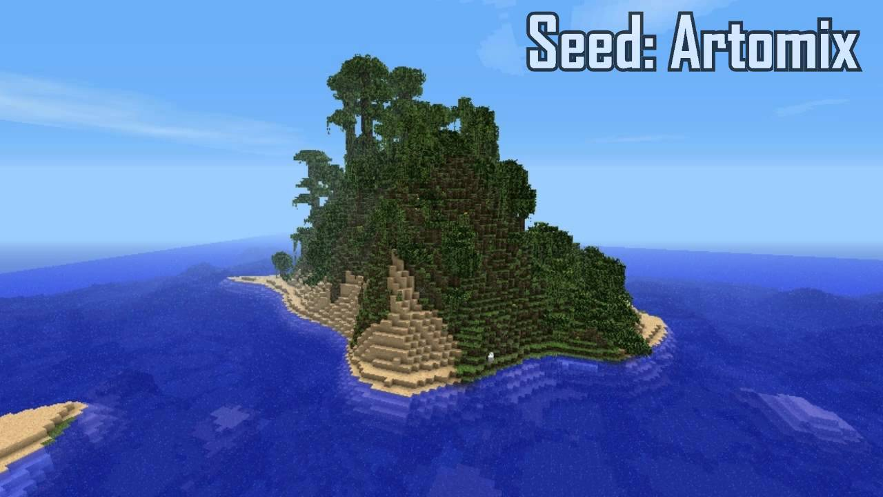 Minecraft Jurassic Park Island Seed