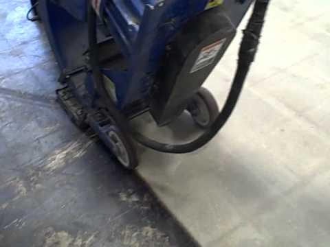 Shot Blasting Concrete Floors 1 Youtube