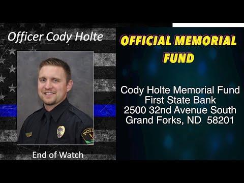 Official Memorial Fund For Slain Grand Forks Officer Established