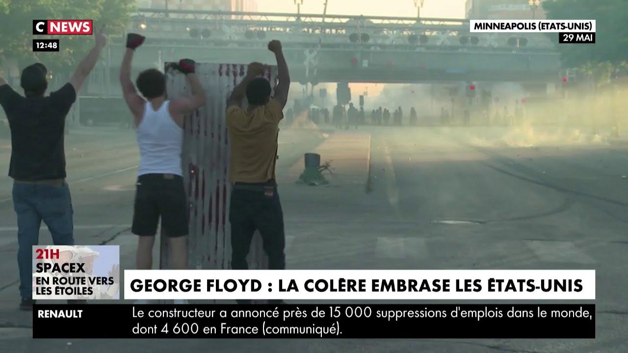 George Floyd : la colère embrase les Etats-Unis