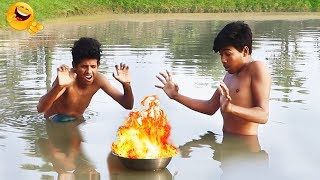 Top New Comedy Video | Try To Not Laugh | Episode-37 | By Binodon Bajar BD