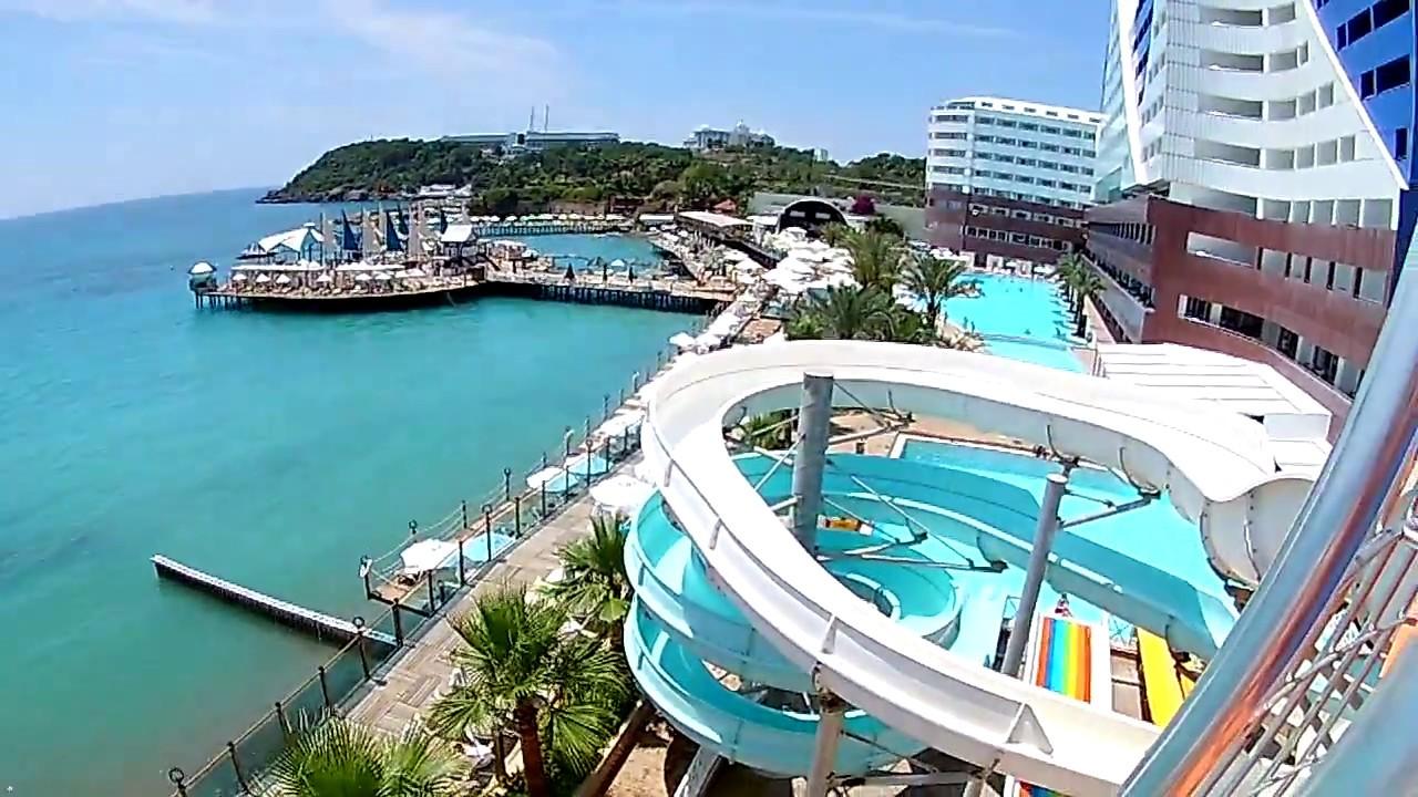 orange county resort hotel - Водная горка №1 - youtube