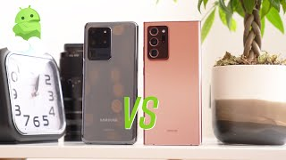 Galaxy Note 20 Ultra vs. S20 Ultra: First look!