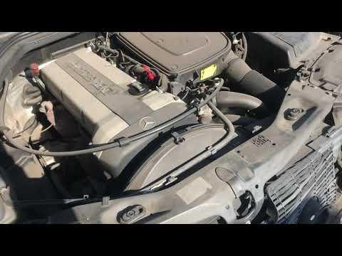 двс в сборе M104.990 на Mercedes S320 300SE W140