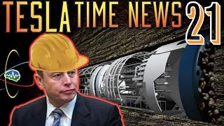 Tesla Time News 21 - More Boring News from Elon