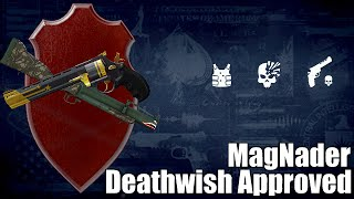Payday 2 The MagNader, Grenade/Pistol Combo (Update 100) Console Compatible