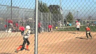 12u softball left handed slap