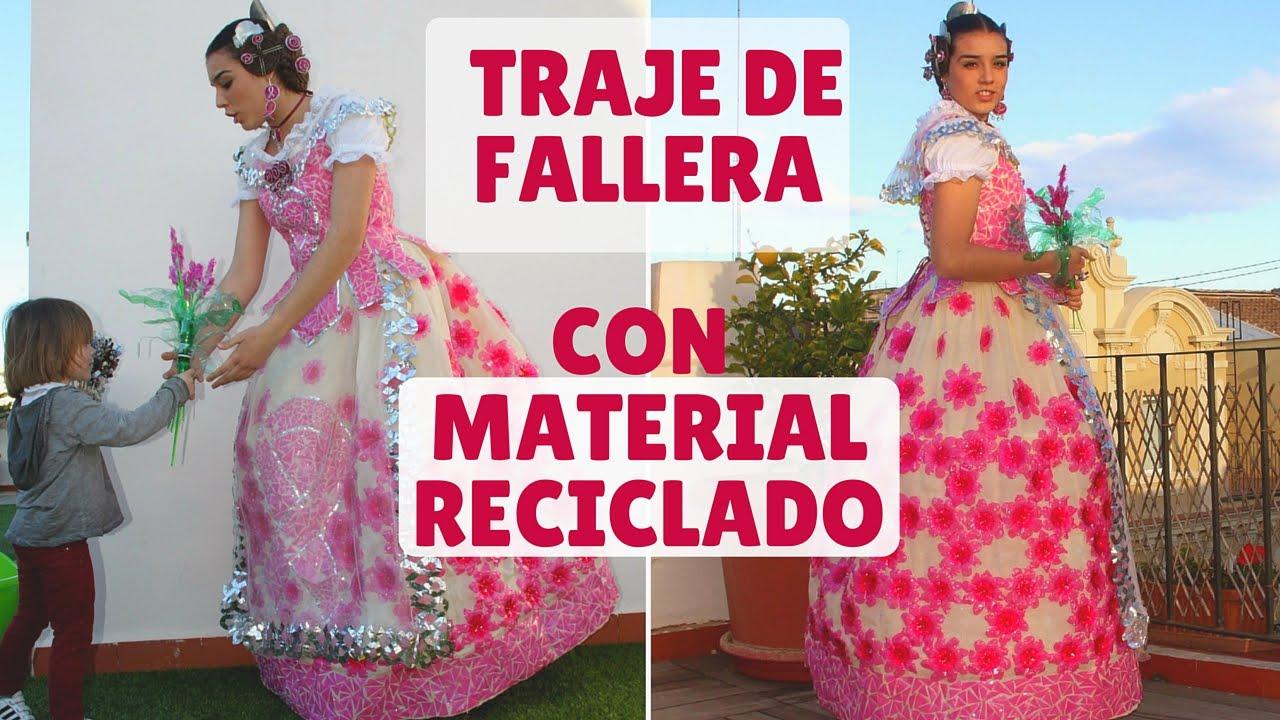 Botellas De Traje Con Fallera Material Plástico Reciclado wXqAdq8