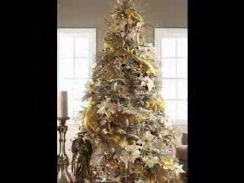 gold christmas tree decorating ideas - Gold Christmas Tree Decorating Ideas