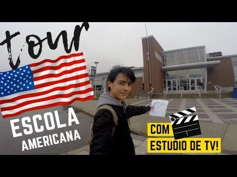 TOUR ESCOLA AMERICANA | HIGH SCHOOL USA | MATRÍCULA ESCOLA PÚBLICA EUA COM VISTO DE TURISTA