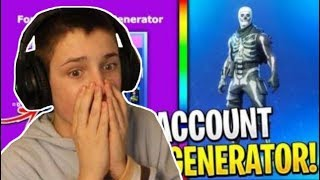 HOW TO GET INTO THE 3 STEPS FORTNITE ACCOUNT!?!?