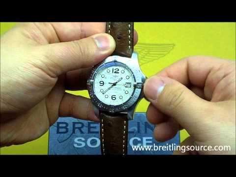 Breitling SuperOcean Steelfish Cream Dial