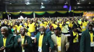 Zuma gets down after his ANC NGC speech