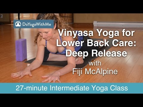 Vinyasa Yoga for Lower Back Care with Fiji McAlpine: Deep Release