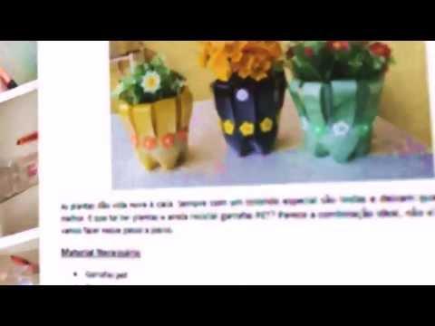 Curso de Reciclagem e Decoração - Como Reciclar/ artesanato de YouTube · Duração:  1 minutos 50 segundos