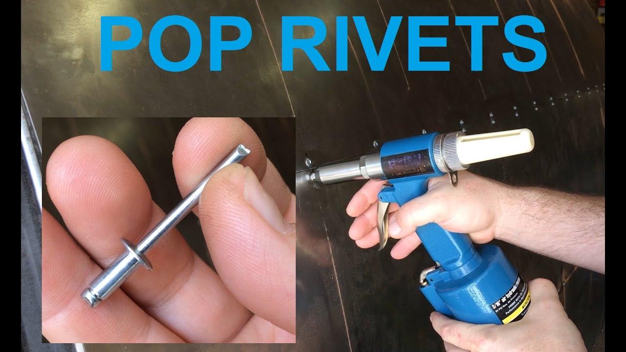Blind Rivet Removal Amp Installation Youtube