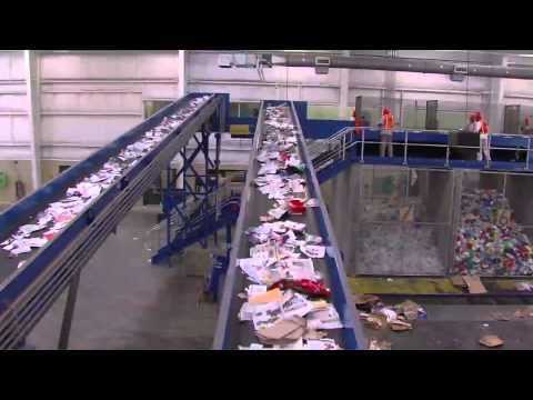 Columbus, GA Recycling Center Process |