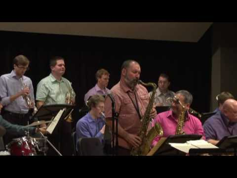 Raymond Shiner Jazz Award Big Band plays Moten Swing
