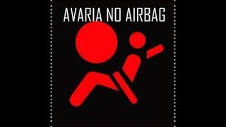 RESOLVA FÁCIL o problema da luz do airbag acesa no painel. SENSOR ACUSANDO AVARIA
