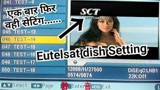 गंदे चैनल ऐसे की मज़ा आ जाय, Eutelsat dish setting and channel list, दुनिया के सबसे गंदे टीवी चैनल