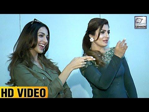 Raveena Tandon Does 'Tu Cheez Badi Mast Mast' With Kiara Advani | LehrenTV