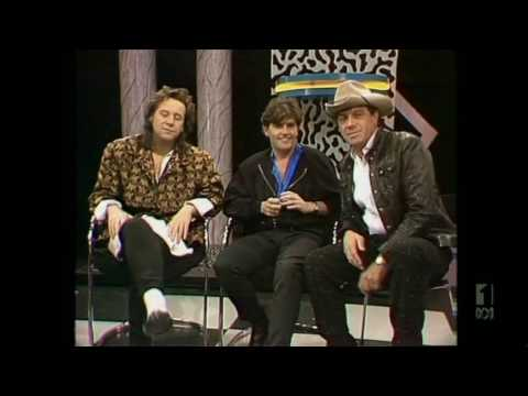 Countdown (Australia)- Molly Meldrum Interviews Simple Minds- October 12, 1986