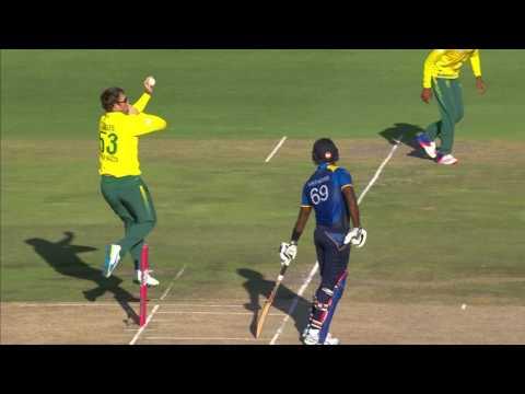 South Africa vs Sri Lanka - 2nd T20 -  Seekkuge Prasanna Wicket