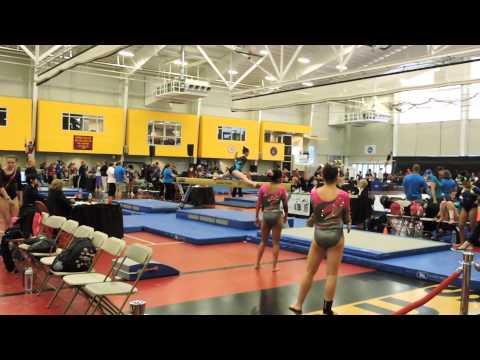 Emily Carey Level 9~Northeast Gymnastics Academy~2015 Region 7 Regionals~Beam