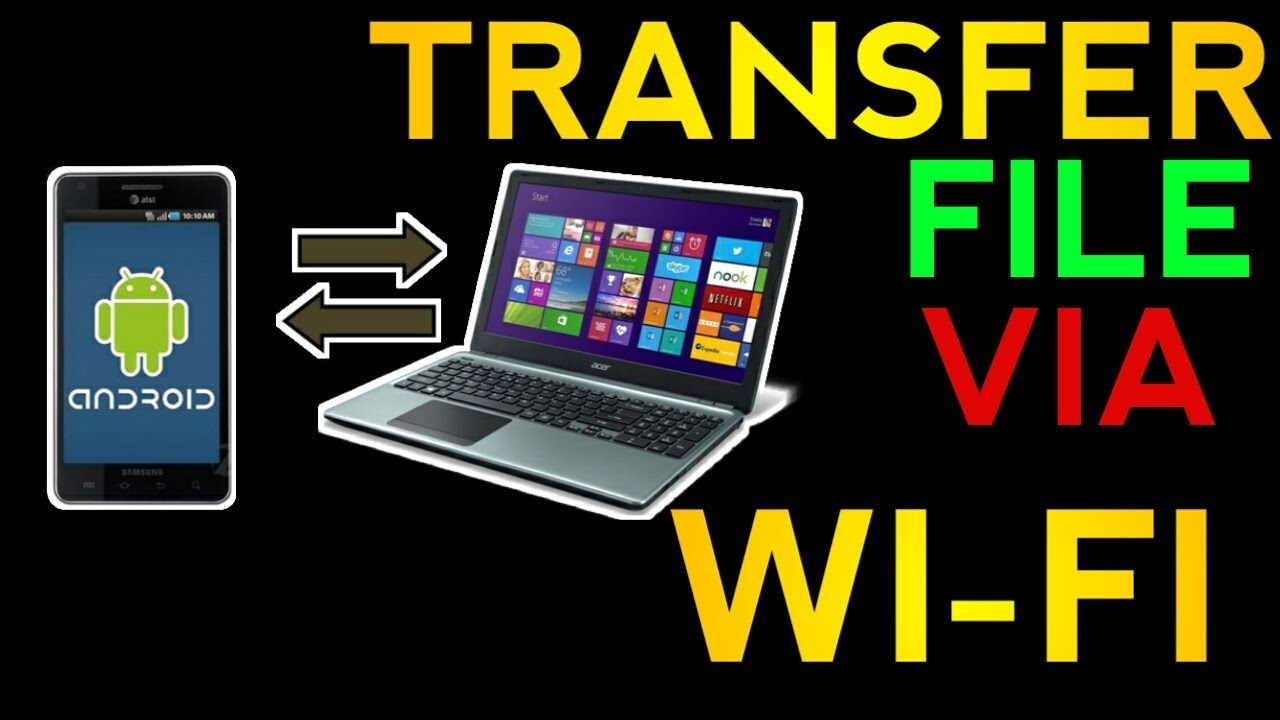 how to transfer photos or files from phone to pc or laptop using