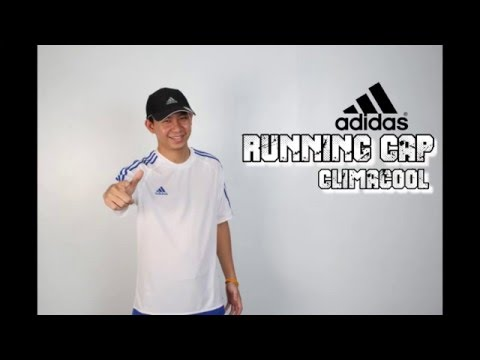 REVIEW Adidas running Cap Climacool BK  sportlandwear - YouTube 8aa89071ed5