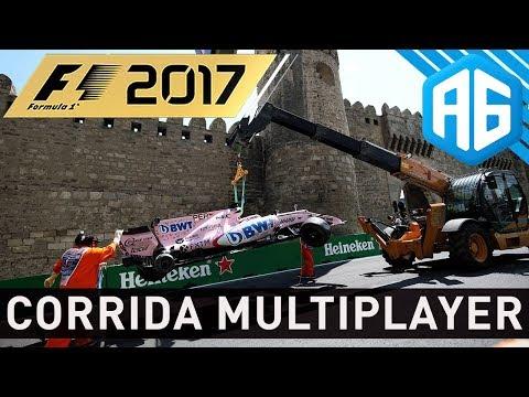 F1 2017 MULTIPLAYER - CORRENDO COM OS INSCRITOS...FESTIVAL DE SAFETY CAR (Português-BR)