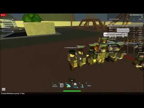 Allied Airborne on roblox training Part 2
