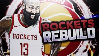 LOSING CP3, BUT SIGNING SOMEONE BETTER? ROCKETS REBUILD! NBA 2K18