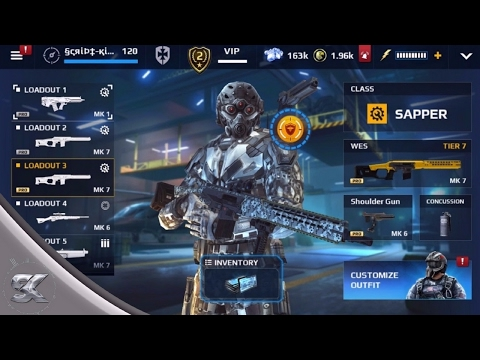 Modern Combat 5 - |Prestige Blueprints| Opening 20 Weapon Packs (Unlocked Oni & Upgraded Weapons)