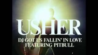 Usher feat.Pitbull Dj got us Falling in Love Official Music Video HD